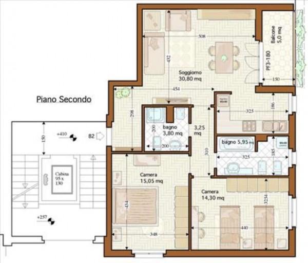 Appartamento in vendita a Siena, 91 mq - Foto 1