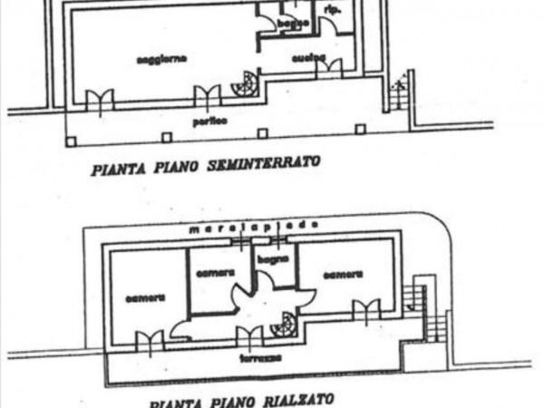 Villa in vendita a Siena, Con giardino, 135 mq - Foto 12