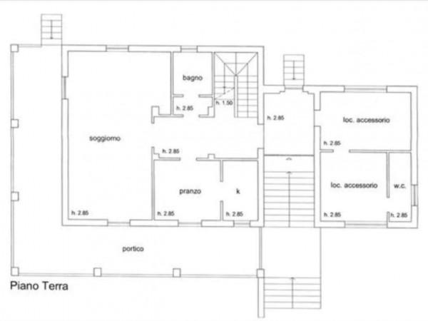 Villa in vendita a Siena, Con giardino, 400 mq - Foto 12