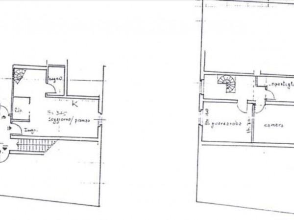 Appartamento in vendita a Castelnuovo Berardenga, Con giardino, 105 mq - Foto 2