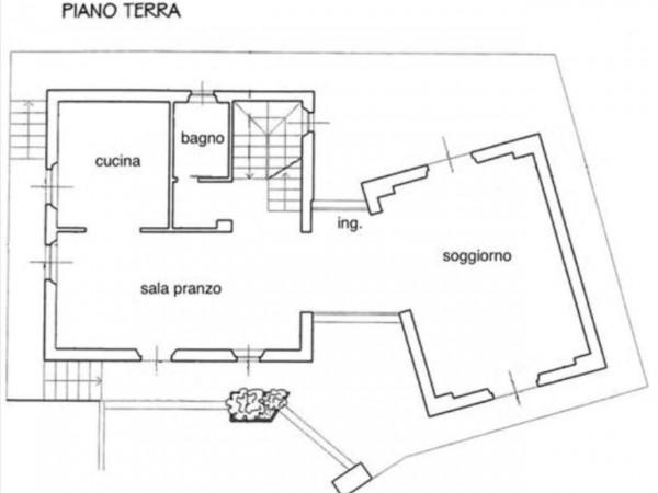 Villa in vendita a Castelnuovo Berardenga, Con giardino, 220 mq - Foto 14