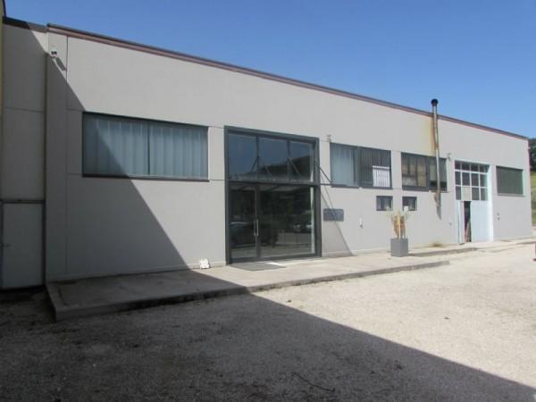 Capannone in vendita a Perugia, Zona Art.le Pianello(pianello) - Sant`egidio, Pianello, 470 mq