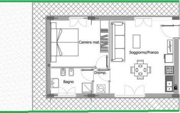 Appartamento in vendita a Legnano, Olmina, 68 mq - Foto 2