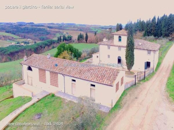 Rustico/Casale in vendita a Montespertoli, Con giardino, 210 mq
