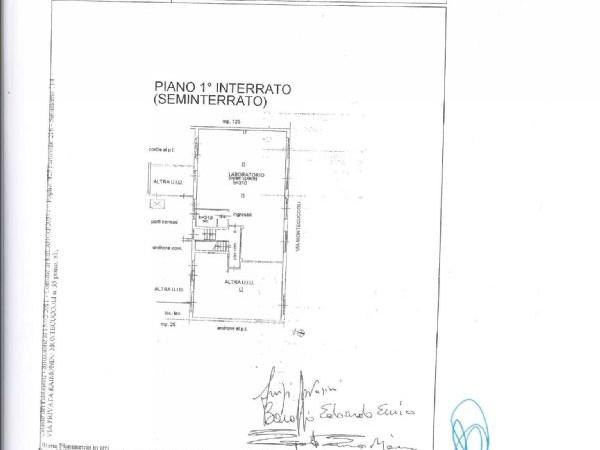 Ufficio in vendita a Milano, Bande Nere - Barona, Giambellino, Lorenteggio, 92 mq