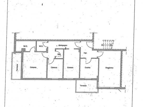 Appartamento in vendita a Perugia, Madonna Alta, 100 mq