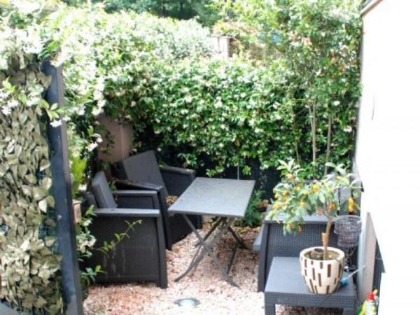 Villetta a schiera in vendita a Novate Milanese, Centro, Arredato, con giardino, 170 mq - Foto 22