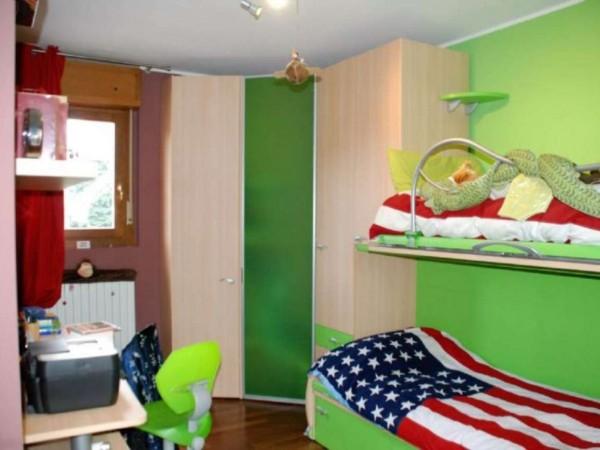 Villetta a schiera in vendita a Novate Milanese, Centro, Arredato, 170 mq - Foto 12