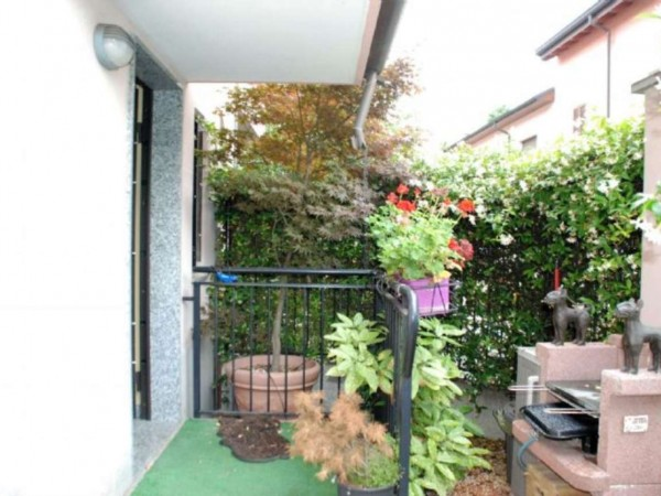 Villetta a schiera in vendita a Novate Milanese, Centro, Arredato, con giardino, 170 mq - Foto 21