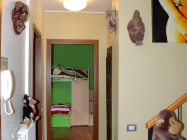 Villetta a schiera in vendita a Novate Milanese, Centro, Arredato, con giardino, 170 mq - Foto 14