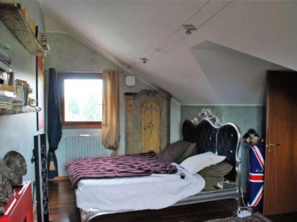 Villetta a schiera in vendita a Novate Milanese, Centro, Arredato, 170 mq - Foto 6