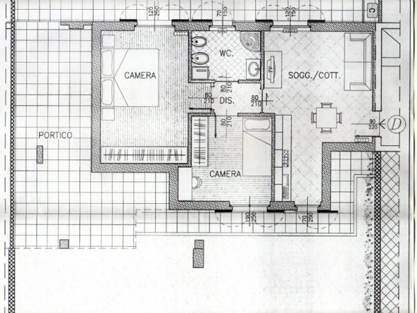 Appartamento in vendita a Mariano Comense, Centrale, Con giardino, 100 mq - Foto 3