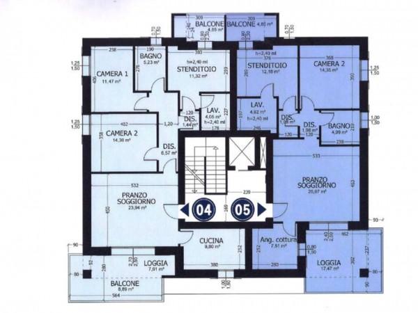 Appartamento in vendita a Formigine, Casinalbo, Con giardino, 130 mq - Foto 2