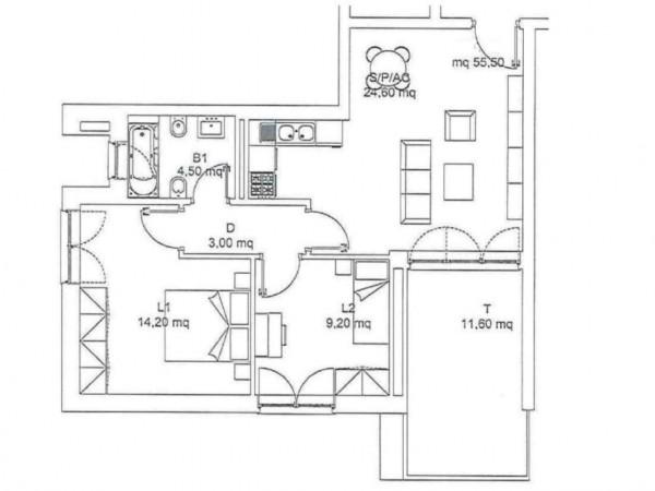 Appartamento in vendita a Roma, Torresina, 66 mq - Foto 4