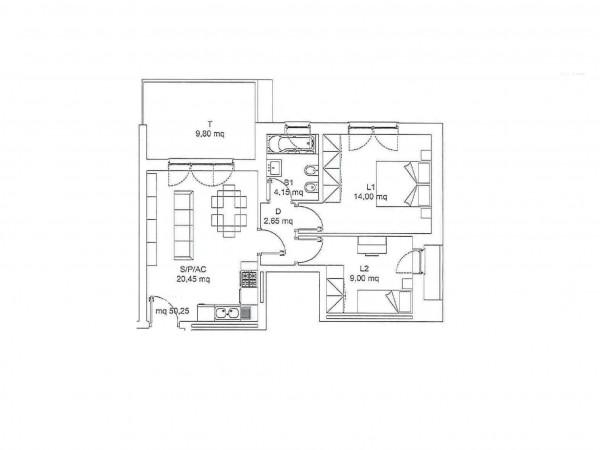 Appartamento in vendita a Roma, Torresina, 66 mq - Foto 2