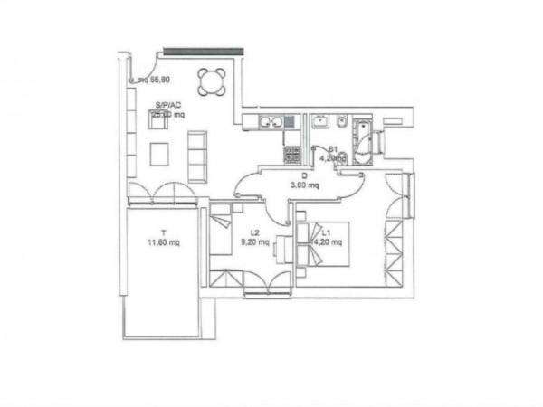 Appartamento in vendita a Roma, Torresina, 66 mq - Foto 3