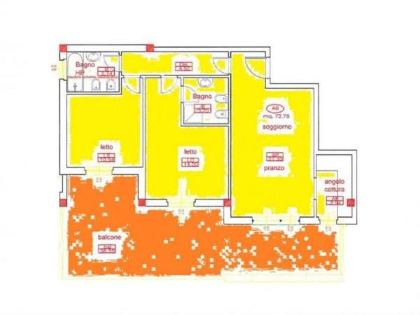 Appartamento in vendita a San Cesareo, Colle La Noce, 75 mq - Foto 4