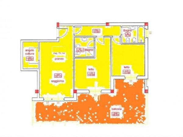 Appartamento in vendita a San Cesareo, Colle La Noce, 75 mq - Foto 3