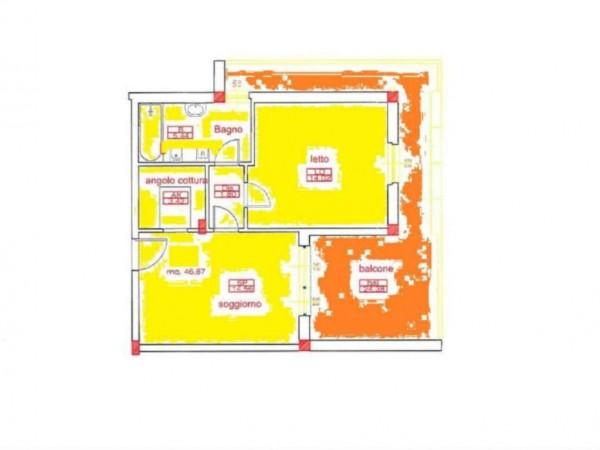 Appartamento in vendita a San Cesareo, Colle La Noce, 47 mq - Foto 3