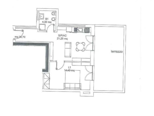 Appartamento in vendita a Roma, Torresina, 47 mq - Foto 4