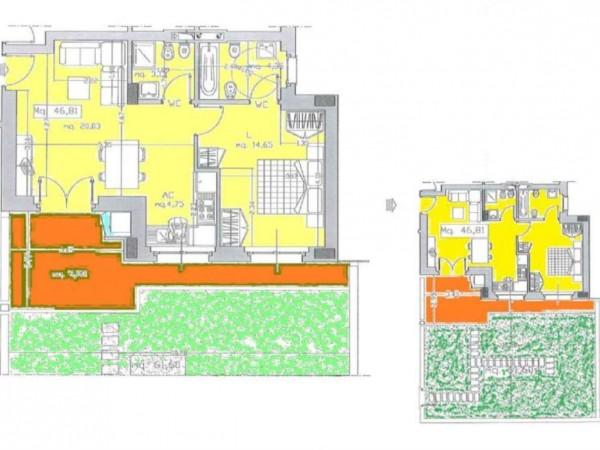 Appartamento in vendita a Roma, Monte Stallonara, Con giardino, 58 mq - Foto 5