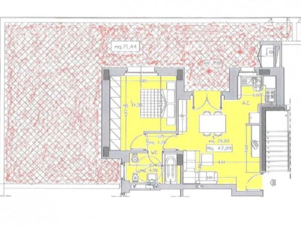 Appartamento in vendita a Roma, Monte Stallonara, Con giardino, 58 mq - Foto 2