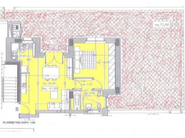 Appartamento in vendita a Roma, Monte Stallonara, Con giardino, 58 mq - Foto 8