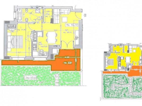 Appartamento in vendita a Roma, Monte Stallonara, Con giardino, 58 mq - Foto 4