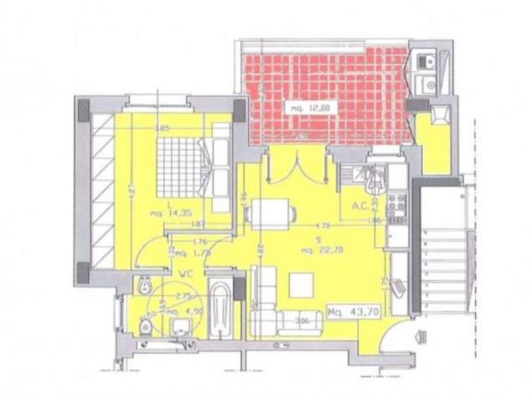 Appartamento in vendita a Roma, Monte Stallonara, Con giardino, 58 mq - Foto 6
