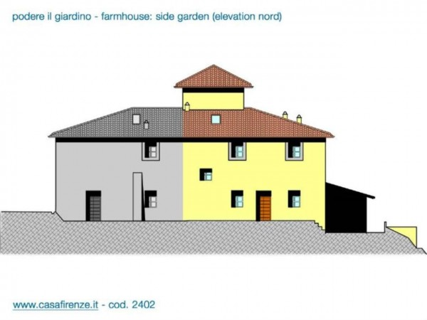 Rustico/Casale in vendita a Montespertoli, Con giardino, 230 mq - Foto 11