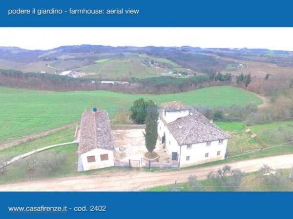 Rustico/Casale in vendita a Montespertoli, Con giardino, 230 mq - Foto 8