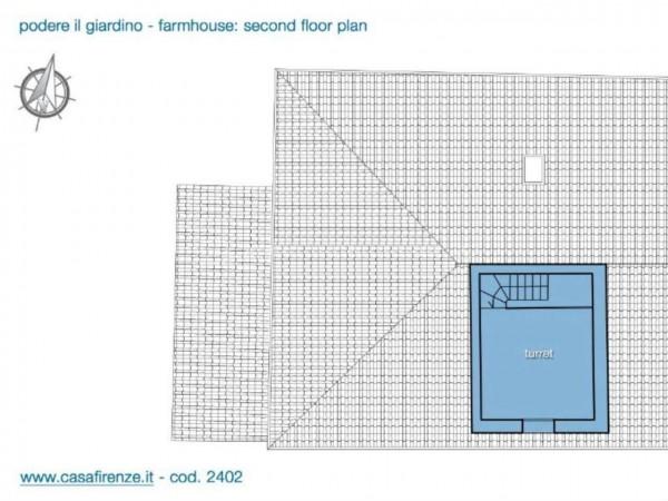 Rustico/Casale in vendita a Montespertoli, Con giardino, 230 mq - Foto 12