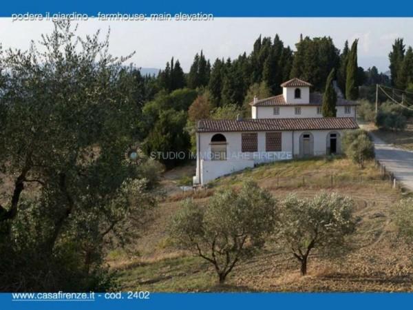 Rustico/Casale in vendita a Montespertoli, Con giardino, 230 mq - Foto 5