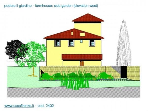 Rustico/Casale in vendita a Montespertoli, Con giardino, 230 mq - Foto 10