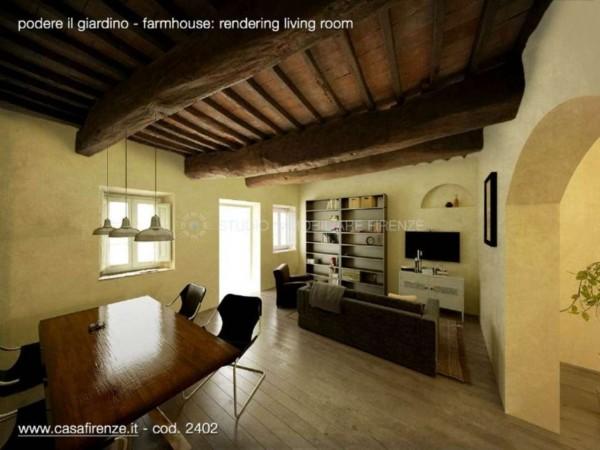 Rustico/Casale in vendita a Montespertoli, Con giardino, 230 mq - Foto 19
