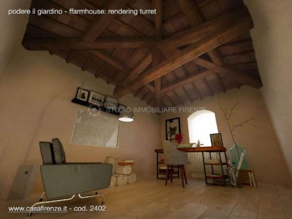 Rustico/Casale in vendita a Montespertoli, Con giardino, 230 mq - Foto 18