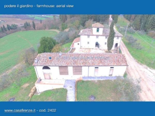 Rustico/Casale in vendita a Montespertoli, Con giardino, 230 mq - Foto 9