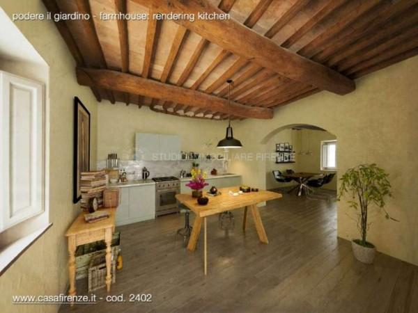 Rustico/Casale in vendita a Montespertoli, Con giardino, 230 mq - Foto 1