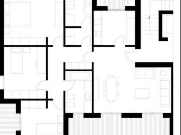 Appartamento in vendita a Gricignano di Aversa, Us Navy, 140 mq - Foto 17