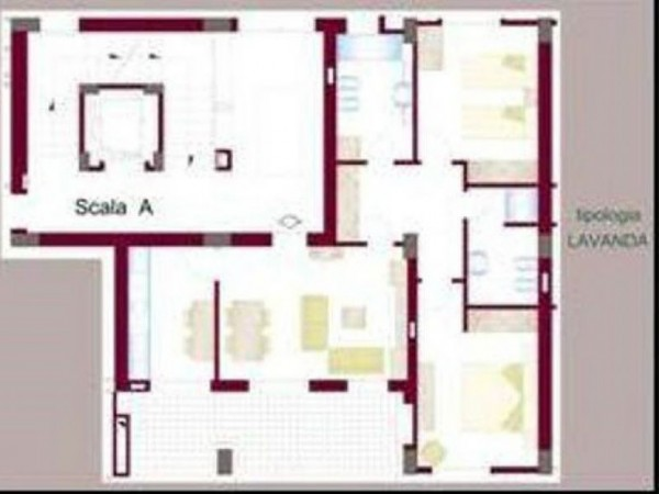 Appartamento in affitto a Gricignano di Aversa, 120 mq - Foto 12