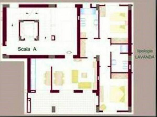 Appartamento in vendita a Gricignano di Aversa, Us Navy, 140 mq - Foto 12