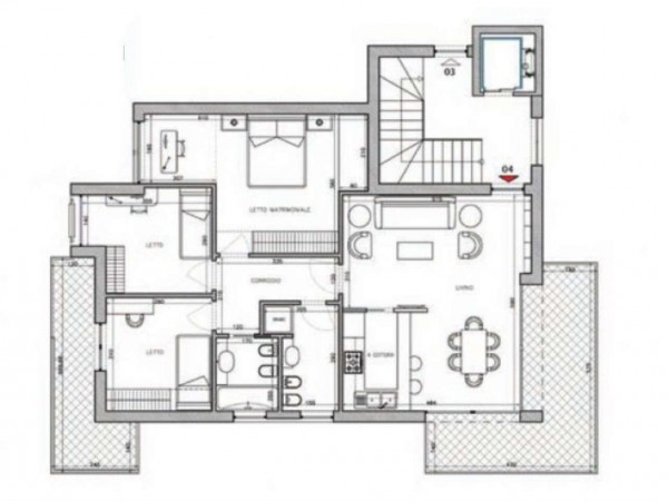 Appartamento in vendita a Camaiore, 110 mq - Foto 2