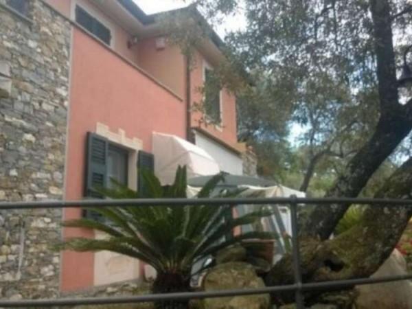 Villa in vendita a Recco, Arredato, con giardino, 170 mq - Foto 2