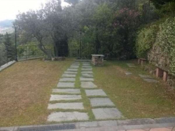 Villa in vendita a Recco, Arredato, con giardino, 170 mq