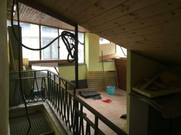 Appartamento in vendita a Susa, Centro Storico, Arredato, con giardino, 60 mq - Foto 9