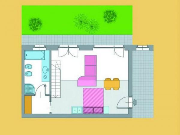Appartamento in vendita a Novate Milanese, Parco Della Balossa, 40 mq - Foto 2