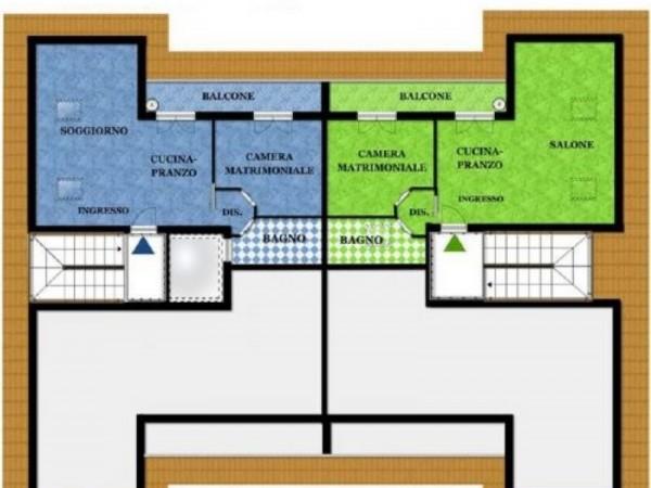 Appartamento in vendita a Busto Arsizio, Borsano, 65 mq - Foto 2