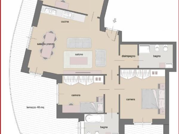 Appartamento in vendita a Torino, Cenisia, 110 mq - Foto 5