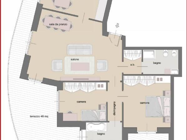 Appartamento in vendita a Torino, Cenisia, 110 mq - Foto 4