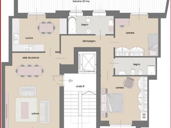 Appartamento in vendita a Torino, Cenisia, 110 mq - Foto 2